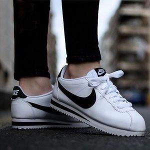 Women Nike Classic Cortez leather white